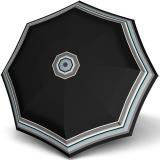 Knirps Taschenschirm T.200 Duomatic - stabil und sturmfest - Grace - black