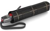 Knirps Taschenschirm T.200 Duomatic - stabil und sturmfest Sherlock Tobacco