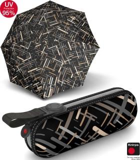 Knirps X1 Super-Mini-Taschenschirm im Etui - UV Protection Elektra neutral