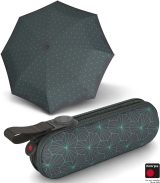 Knirps X1 Super-Mini-Taschenschirm im Etui - Lotus - iron