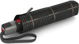 Knirps Taschenschirm T.300 Large Duomatic - groß stabil und sturmfest - Sherlock Tobacco