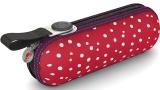Knirps Regenschirm Taschenschirm Super Mini X1 Flakes rot