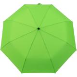 iX-brella stabiler Taschenschirm Mini Regenschirm mit Auf-Zu-Automatik - mid class neon grün