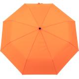 iX-brella stabiler Taschenschirm Mini Regenschirm mit Auf-Zu-Automatik - mid class neon orange