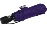 iX-brella stabiler Taschenschirm Mini Regenschirm mit Auf-Zu-Automatik - mid class berry