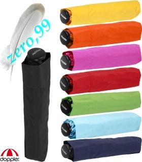 Doppler zero,99 extrem leichter Mini Damen Taschenschirm