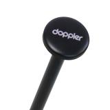 Doppler zero,99 extrem leichter Mini Damen Taschenschirm - fiery red
