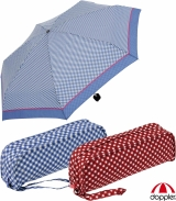Doppler Super-Mini-Taschenschirm - klein und leicht -...