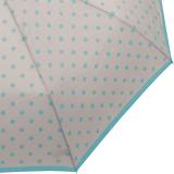 Pierre Cardin Damen Taschenschirm mit Auf-Zu-Automatik - Caprice - grau