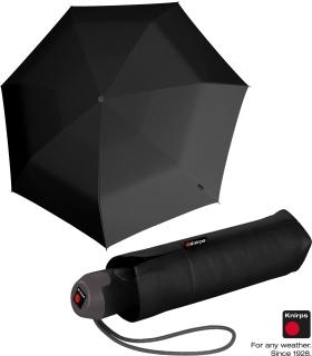 Knirps Mini Taschenschirm E.100 Auf-Zu-Automatik - black