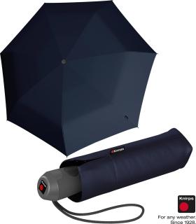 Knirps Mini Taschenschirm E.100 Auf-Zu-Automatik - navy