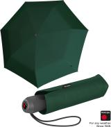 Knirps Mini Taschenschirm E.100 Auf-Zu-Automatik - dark green