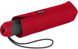 Knirps Mini Taschenschirm E.100 Auf-Zu Automatik mit farbigem Griff - red