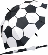 Fußball XL Golfschirm-Partnerschirm mit Automatik...