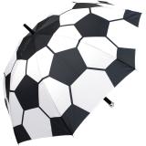 Fußball XL Golfschirm-Partnerschirm mit Automatik Soccer