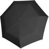 Knirps Mini Taschenschirm Floyd Duomatic - Auf-Zu-Automatik - black