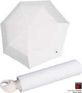 Knirps Mini Taschenschirm Floyd Duomatic - Auf-Zu-Automatik - white
