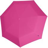 Knirps Mini Taschenschirm Floyd Duomatic - Auf-Zu-Automatik - pink