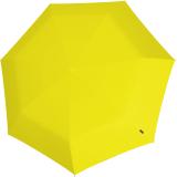 Knirps Mini Taschenschirm Floyd Duomatic - Auf-Zu-Automatik - yellow