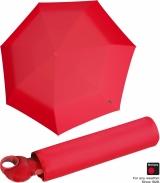 Knirps Mini Taschenschirm Floyd Duomatic - Auf-Zu-Automatik - red