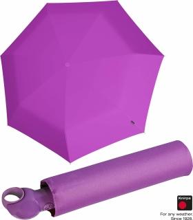 Knirps Mini Taschenschirm Floyd Duomatic - Auf-Zu-Automatik - violet