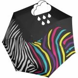 Knirps Mini Taschenschirm Floyd Duomatic Zebra mit...