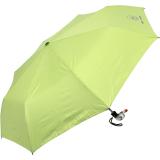 Cachemir Solid Rain Colors Mini Taschenschirm mit Entengriff - Handöffner - lime