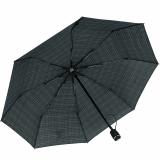 Knirps Regenschirm Taschenschirm Large Duomatic Men´s Prints Check