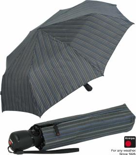 Knirps Herren Taschenschirm T3 Duomatic Balance Stone Stripes