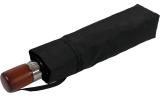 Samsonite Taschenschirm Auf-Zu Automatik Wood Classic Short black
