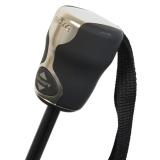 Regenschirm bugatti Gran Turismo heat stamp Auf-Zu Automatik black mit Geschenkverpackung