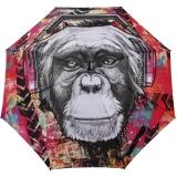 Doppler Modern Art Stockschirm - Monkey