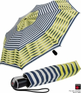 Knirps Regenschirm Taschenschirm Large Duomatic Viper mit UV-Schutz - marina