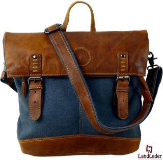 LandLeder City-Rucksack Casual Bag SAILCLOTH