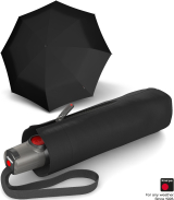 Knirps Taschenschirm T.100 Duomatic Auf-Zu-Automatik - black