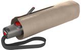 Knirps Taschenschirm T.100 Duomatic Auf-Zu-Automatik UV Schutz - taupe
