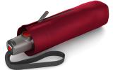 Knirps Taschenschirm T.100 Duomatic Auf-Zu-Automatik UV Schutz - dark red