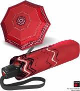 Knirps Taschenschirm T.100 Duomatic Auf-Zu-Automatik UV Schutz Floripa - red