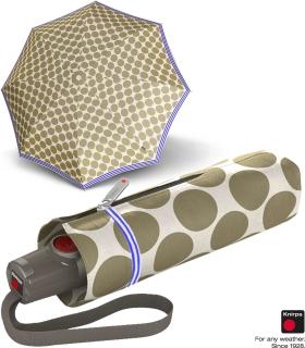Knirps Taschenschirm T.100 Duomatik Auf-Zu-Automatik UV Schutz Recife - marina
