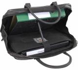 LandLeder Laptoptasche CAMBRIDGE - schwarz