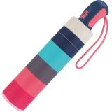 Esprit Taschenschirm Easymatic Light mit Auf-Zu Automatik Candystripe - white
