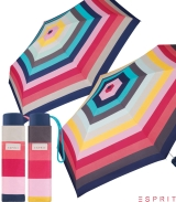 Esprit Super Mini Taschenschirm Petito Candystripe