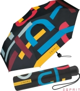 Esprit Mini Taschenschirm Heritage - black