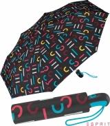 Esprit Taschenschirm Easymatic Light mit Auf-Zu Automatik...