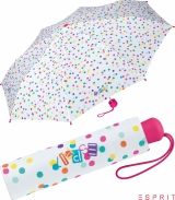Esprit Kinder-Taschenschirm - colored dots
