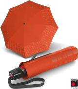 Knirps Taschenschirm T.200 Duomatic - stabil und sturmfest - Solids Reflective - pumpkin