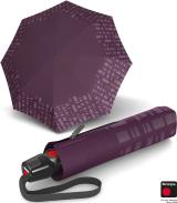 Knirps Taschenschirm T.200 Duomatic - stabil und sturmfest - Solids Reflective - purple