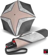 Knirps Taschenschirm T.200 Duomatic - Glitter Print - Rihanna - rose
