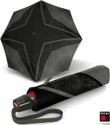 Knirps Taschenschirm T.200 Duomatic - Glitter Print - Rihanna - black
