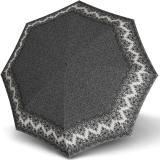 Knirps Taschenschirm T.200 Duomatic - stabil und sturmfest - Marlene - black